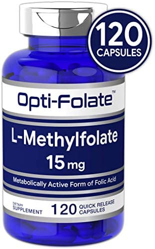 Opti Folate L Methylfolate Capsules Optimized Activated product image