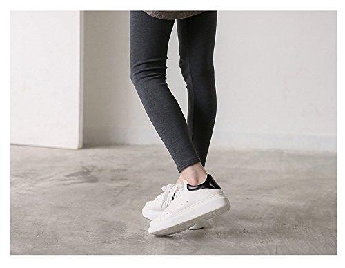 Carawyw Donna Moderna E Casual Moda Casual Sneaker Bianca