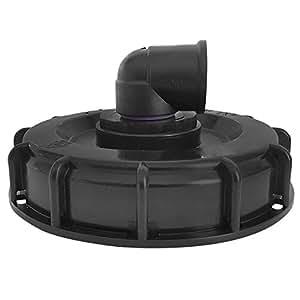 'IBC Tapa DN 150con 1rosca interior (ampliable), de impulsión rebosadero, ventilación