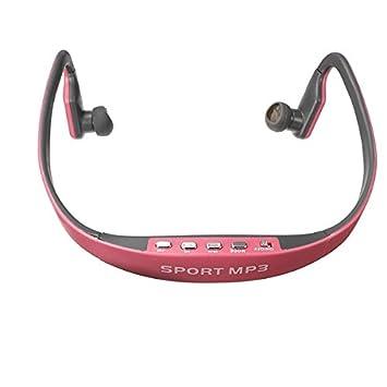 Rosa Sport Gym auriculares inalámbricos auricular MP3 reproductor de música