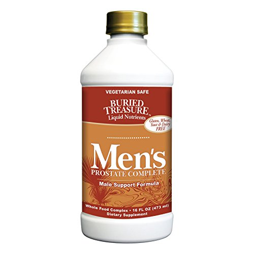 Buried Treasure Complete (Buried Treasure Men's Prostate Complete - 16 fl oz - Vegetarian Safe - Gluten Free)