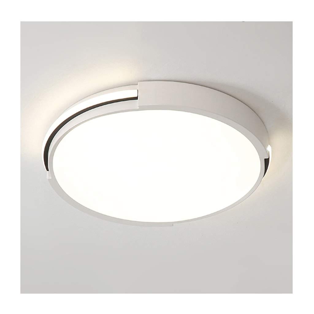 天井照明 シーリングライト - 北欧のシンプルなLED調光対応天井ランプアイロンアクリルリビングルームの装飾寝室キッチンオフィスホテル照明 シーリングライト (Color : White light, Size : 50cm) 50cm White light B07T7F6HJM