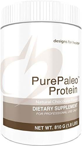 Designs for Health PurePaleo Protein Powder - Chocolate Pure Beef Collagen Peptides, 21 Grams HydroBEEF Protein with Collagen + BCAAs (30 Servings, 810 Grams)