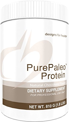 Designs for Health PurePaleo Protein Powder - Chocolate Pure Beef Collagen Peptides, 21 Grams HydroBEEF Protein with Collagen + BCAAs (30 Servings, 810 Grams) (Best Fruit Ninja Score)