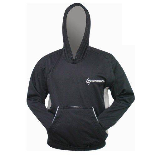 SPRAWL MMA Performance Hoodie Black//Gray