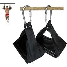 Gymforward Heavy Duty Ab Straps Suspension Hanging Straps Abdominal Reverse Pull Sit Ups on Chin Up Bar Abdominal Sling