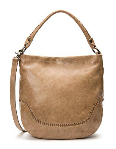 FRYE Melissa Whipstitch Hobo Shoulder Bag, Dark Taupe ()