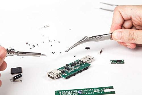 工業用工具セット 電子部品用ピンセットセット精密ホビーステンレス ミニツール