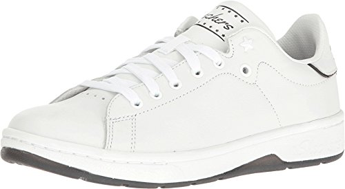 Skechers Alpha Lite Cool Kid Womens Sneakers White/Black 9 840