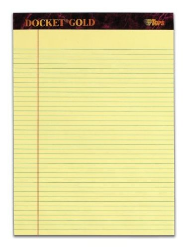 Docket Writing Tablet Perforated 63941 product image
