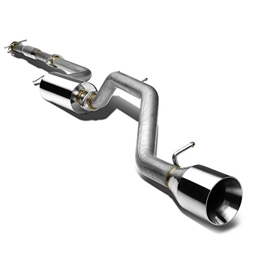 (DNA Motoring CBEFF00NRT Catback Exhaust System [For 00-04 Ford Focus)