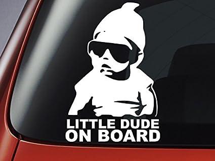 """Pegatina frase en inglés """"Baby On Board""""- personalizado con ..."""