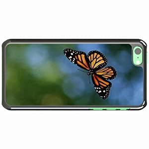 Customized Back Cover Case For iPhone 6 4.7'' Hardshell Case, Black Back Cover Design Butterfly Personalized Unique Case For iPhone 6 4.7''