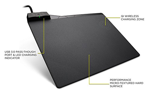 CORSAIR MM1000 Qi Wireless Charging Mouse Pad - Adapters Inc