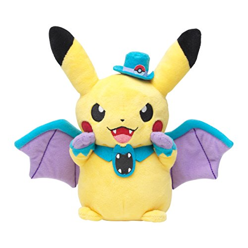 Pokemon Center Original Pikachu Plush Doll (Golbat Ver.) Halloween Parade -
