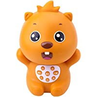 Beva Cute Beaver Wireless Bluetooth Speaker Digital Player (Orange)