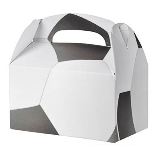 24 SOCCER PARTY TREAT BOXES FAVORS GOODY BAG PRIZE GIFT BASKET CARNIVAL by Brand: RI