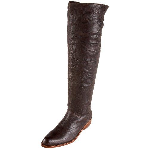 Gee'WaWa Women's Ellie Boot,Chocolate Borello,8 M US