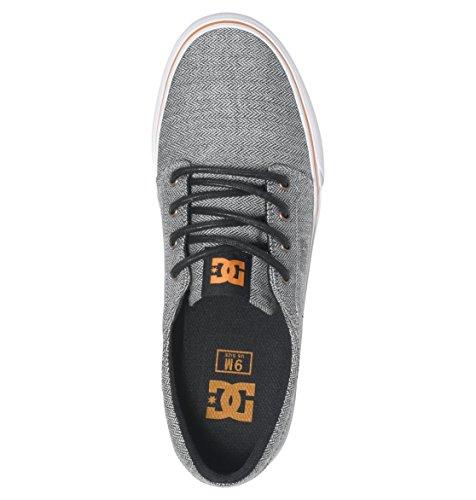Trase Orange TX Gris Grey Homme DC Shoes Basses Se Grey Baskets Zqn5xzwE