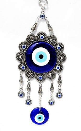 Betterdecor Blue Evil Eye Protection Hanging Decoration (With a Pouch)-009sf