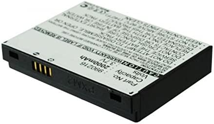 GEX-INNO2BK GEX-INNO1-P Inno XM2go GEX-INNO2 Inno 2 Samsung YX-M1Z Helix XM2go XM Radios MPF Products 2000mAh 990216 Battery Replacement Compatible with Pioneer GEX-INNO1