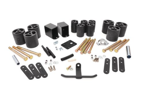Rough Country - RC611 - 3-inch Body Lift Kit for Jeep: 87-95 Wrangler YJ 4WD