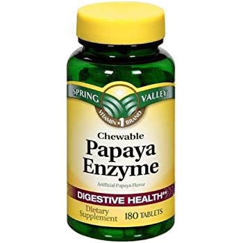 Amazon.com: Natures Truth Chewable Papaya Enzyme 120 ...