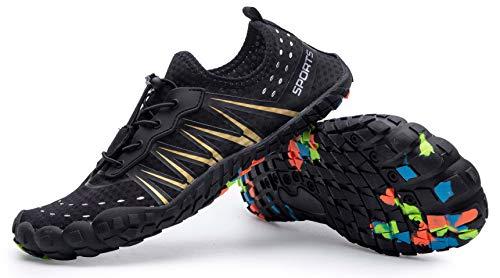 Mens Women Water Sport Shoes Barefoot Quick-Dry Aqua Socks for Beach Swim Surf Yoga Exercise, 11.5 M US Women / 10 M US Men by Z-joyee (Image #3)