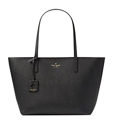 Kate Spade New York Scotts Place Lida Shoulder Handbag Tote Black Leather