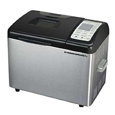 Breadman TR2500BC Ultimate Plus 2-Pound Stainless-Steel Convection Breadmaker (Certified Refurbished)
