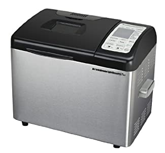 Breadman TR2500BC Ultimate Plus 2-Pound Stainless-Steel Convection Breadmaker : Easy to use and clean