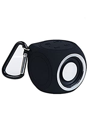 Portable Waterproof Bluetooth EDR Shower Speaker SOUL COLE Car Handsfree Speakerphone built in Mic for iPhone iPad iPod and all Bluetooth Player