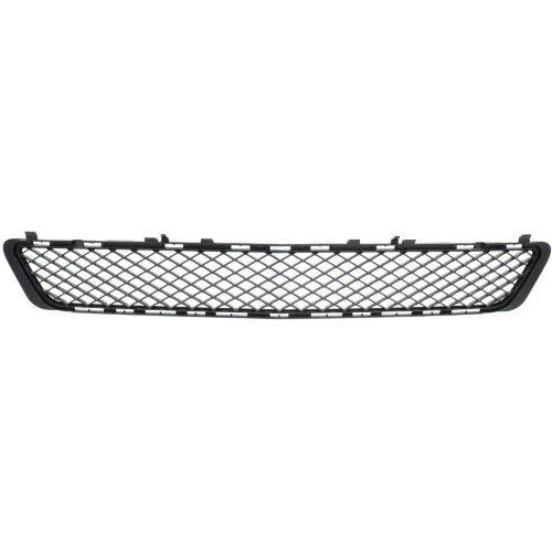 (Garage-Pro Front Bumper Grille for MERCEDES BENZ E-CLASS 2010-2013 Textured Black Sedan/Wagon)