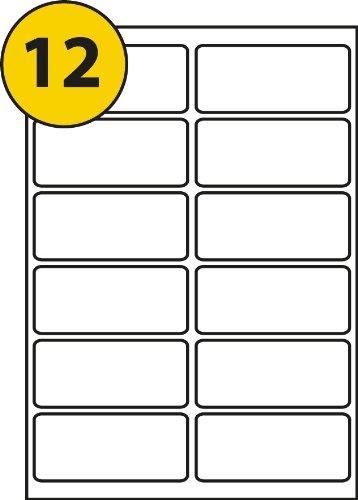 12 labels per sheet 99 1x42 3 20 sheets ms software code l4743
