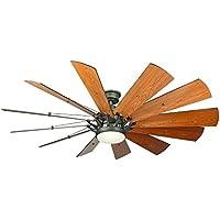Home Decorators Trudeau 60 LED Espresso Bronze Ceiling Fan