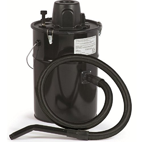 Cheetah Ash Vacuum, Black, Made in USA (Pellet Stove Vacuum Hose)