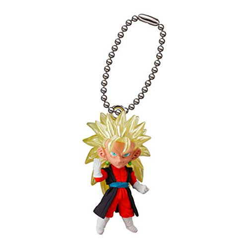 Bandai Gashapon Dragon Ball UDM Best 24 Figure Swing Keychain~S.S 3 Vegeto Xeno
