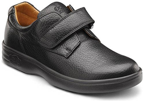 Dr. Comfort Maggy Women's Therapeutic Diabetic Extra Depth Shoe: Black 8.5 Medium (A-B) Velcro