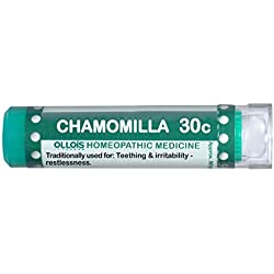 Ollois Lactose Free Homeopathic Medicines, Chamomilla 30C Pellets, 80 Count