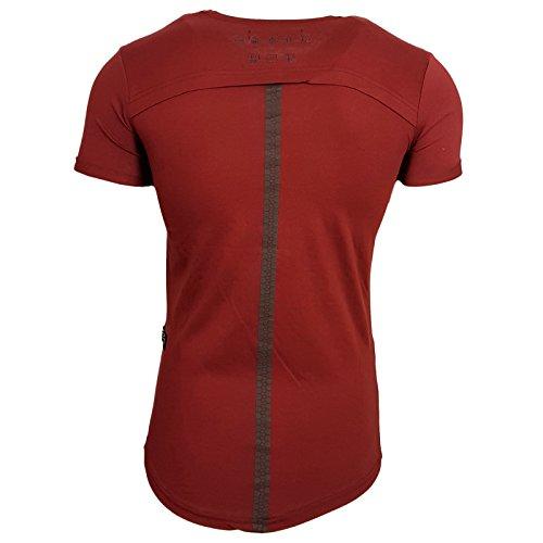 Rusty Neal Herren T-Shirts T-Shirt rot bordeaux XL