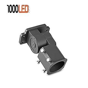 1000LED LED Shoebox Light Outdoor Packing Fixture Mounting Brackets Slip Fitter