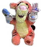 """: Winnie the Pooh 10"""" Tigger Plush Doll with Finger Puppets"""
