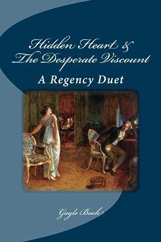 book cover of Hidden Heart / The Desperate Viscount