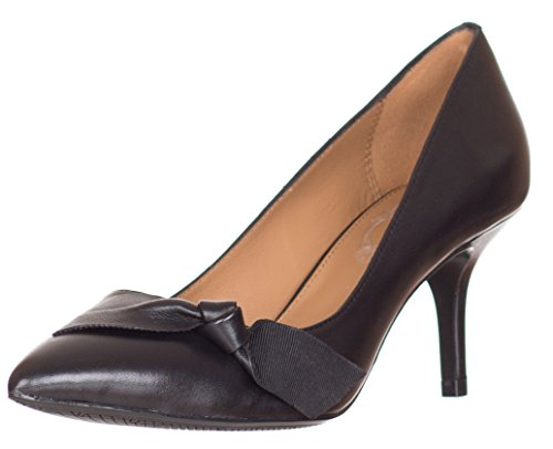 Elie Tahari Donna? S Lora Lee Pumps In Pelle Nera Us 7.5 Eu 37.5