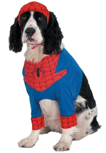[Spider-Man Pet Pet Costume - Large] (Pet Spiderman Costumes)