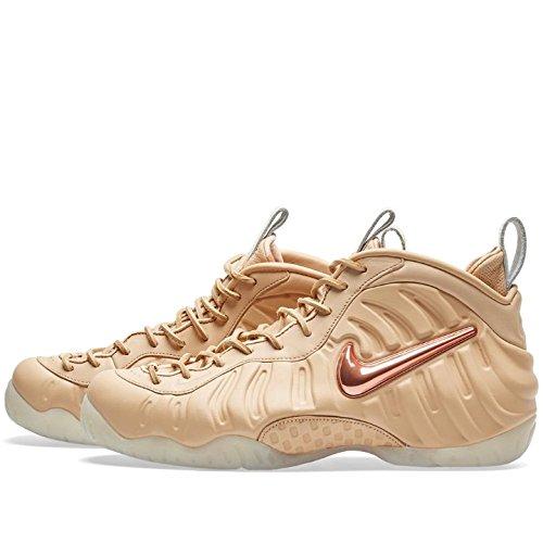 Nike Men Air Foamposite Pro Prm As Qs (tan / Vachetta Tan / Rose Gold-sail) Tan / Vachetta Tan / Rose Gold-sail