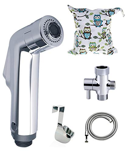 Mode Cloth Diaper Sprayer Kit Plus a Bonus Wet Bag and a DIY Sprayer Splatter Shield Guide ()