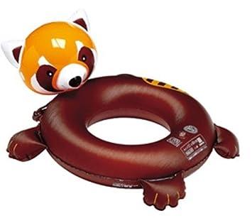 Red Panda flotador 57 x 60 cm (Jap?n importaci?n / El paquete y el manual est?n escritos en japon?s): Amazon.es: Juguetes y juegos