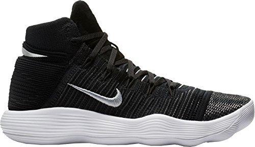 new arrivals 35bc2 33417 NIKE Hyperdunk 2017 Flyknit Size 11 Mens Basketball Shoe Black Metallic  Silver (Kobe Nike