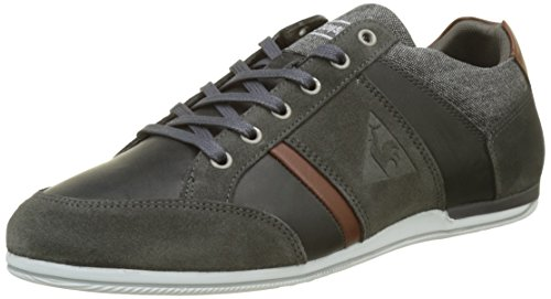 Le Coq Sportif Herren Cernay Leather 2 Tones Sneaker, Dark Shadow Grau (dark Gris)